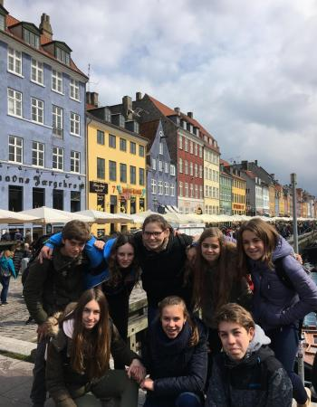 Middenschool Sint-Pieter Oostkamp Europees project Noorwegen