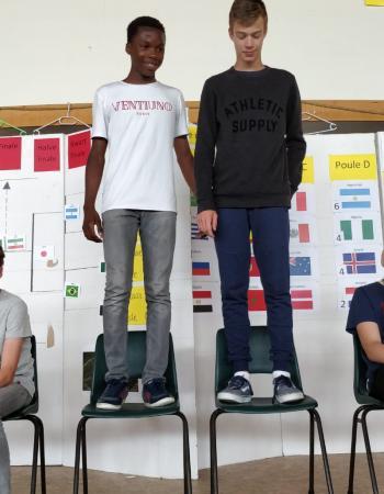 Middenschool Sint-Pieter Oostkamp WK Pannavoetbal